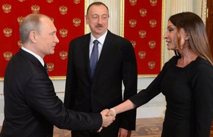 Mehriban Əliyeva Rusiyanın